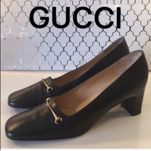 ⭐️GUCCI LOW HEELS 💯AUTHENTIC